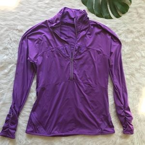 Athleta 1/2 zip long sleeve pullover